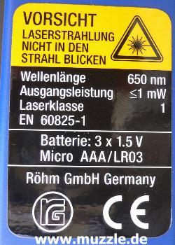 """Bild oben: """"Light-Point""""-Lasergewehr mit RG-""""Desperado"""" im ..."""