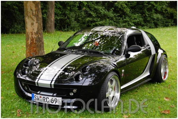 smart roadster tuning tuning smart roadster from moscow. Black Bedroom Furniture Sets. Home Design Ideas