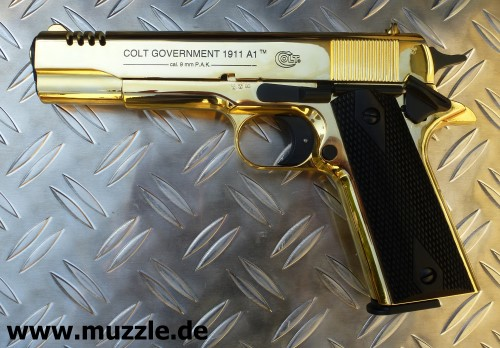 Colt Government 1911 A1 Gold Edition