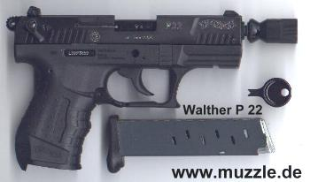 9mm P22 conversion - WaltherForums