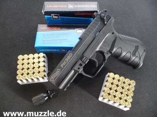 pistole pak stahlschlitten und stoßboden