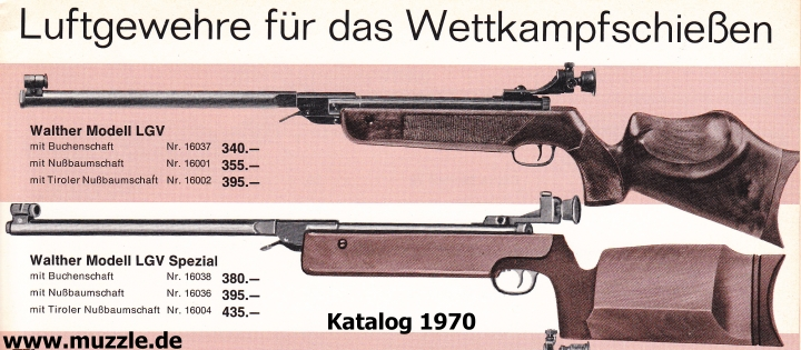 carabine walther maximathor